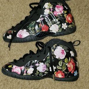 """Nike  FoamPosite """"Floral"""" Shoe"""